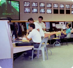Operations Control Centre under test, Singapore